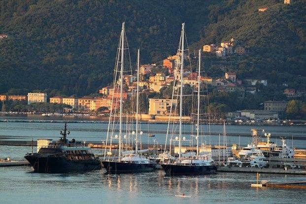 Vue de La Spezia
