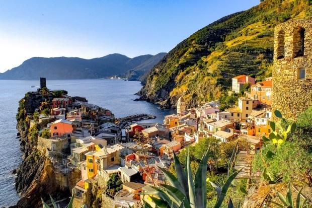 Vernazza top village Cinque Terre