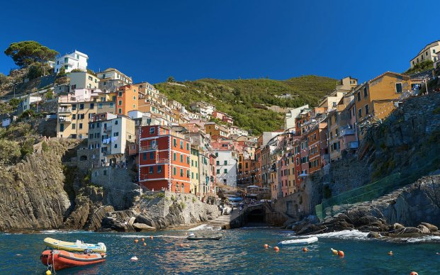 Riomaggiore village des Cinque Terre