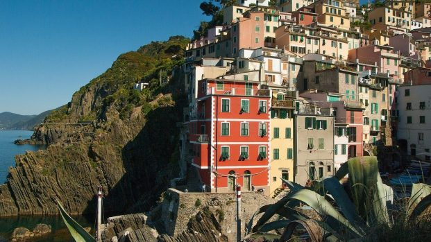 Facades de Riomaggiore