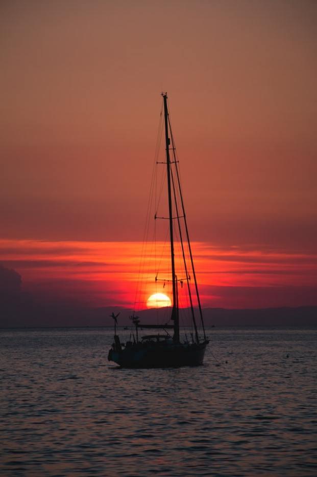 Croisiere Coucher de soleil dans les Cinque Terre