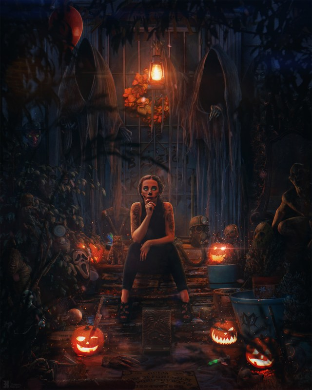 Samain, Halloween et le Scorpion