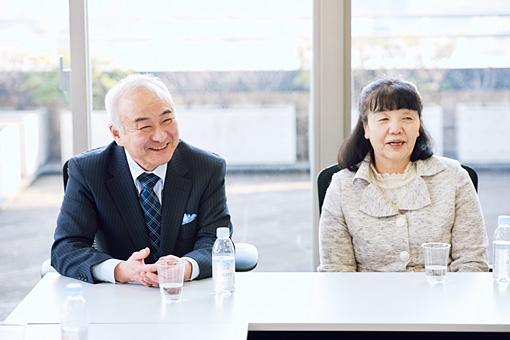 左から:齋藤寛幸(ノルテ・ハポン)、若林美津子(ノルテ・ハポン)