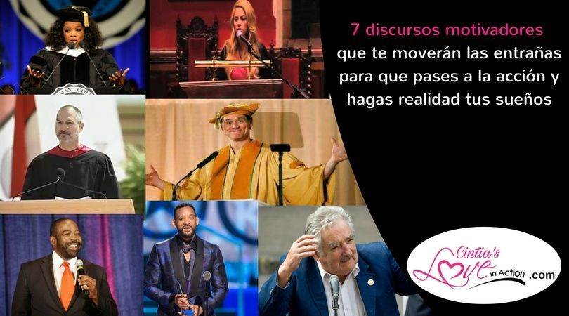 7 discursos motivadores- Cintia's Love in Action