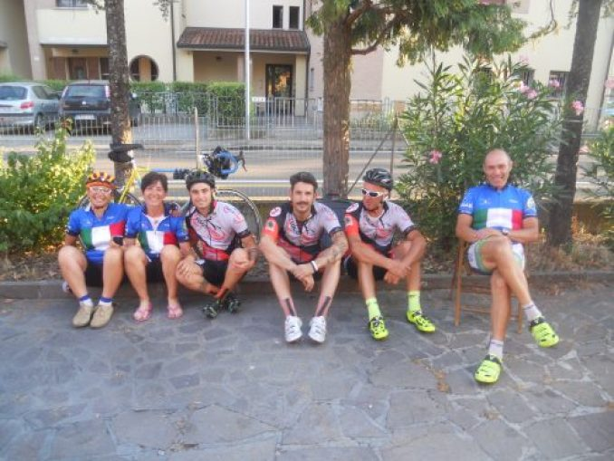 Facebike team: volti sorridenti