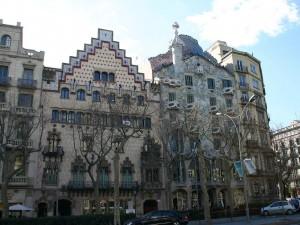 Barcellona, Modernismo architettonico, Casa_Ametller_e_Batllo