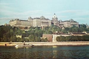 Budapest, il Castello Reale nel 1930