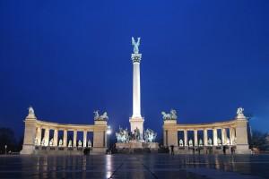 Budapest, la Piazza degli Eroi