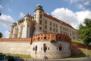 Cracovia, il Palazzo Reale o Castello sulla collina di Wawel