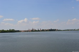 Mantova, panoramica dal Lago inferiore