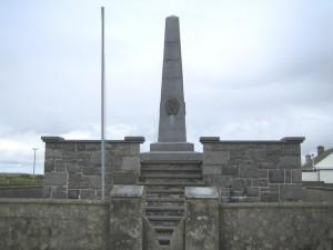 Banna Strand, obelisco in onore di Roger Casement