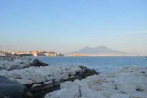 Napoli, veduta del golfo