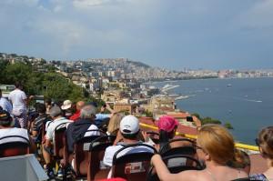 Veduta sul Golfo di Napoli