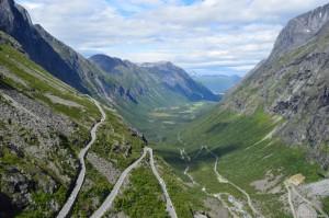Norvegia, Andalsnes, la Strada dei Troll