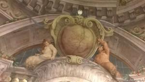 Bologna, Palazzo Isolani, affresco barocco bolognese