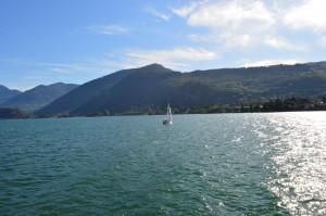 Lago d'Iseo, panoramica