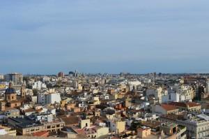 Valencia, panoramica dalla torre della Cattedrale