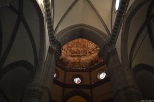 Firenze, Duomo, affresco Giudizio Universale