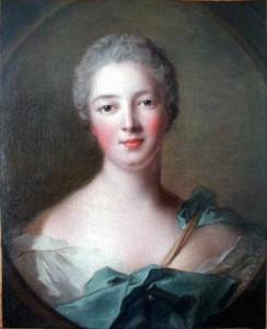 Marchese di Pompadour ritratta da J. M. Nattier