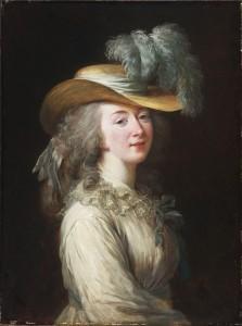 Madame du Barry, ritratta da E. Vigée-Le Brun