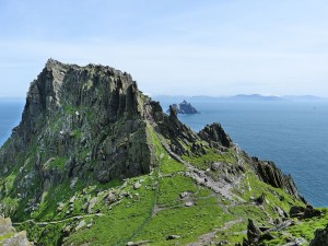 Skellig Michael, una delle location del film Star Wars 7