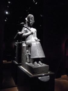 Museo Egizio Torino, statua in diorite di Ramses II