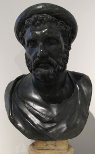 Busto di Pitagora