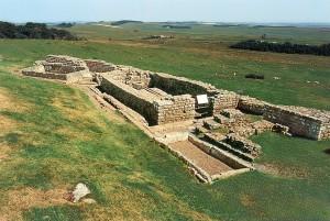 Vallo di Adriano, resti del forte di Housesteads