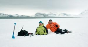 Quo vado ?, scena del film alle isole Svalbard