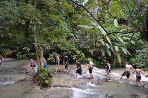 Giamaica, Ocho Rios, cascate del Dunn