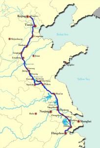 Cina, moderno corso del Gran Canale