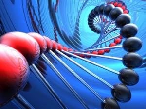 render of DNA