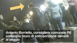 Irregolarità primarie 2016 Napoli dal video Fanpage
