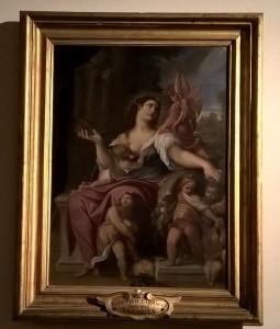Allegoria della Provvidenza, Ludovico Carracci, Musei Capitolini