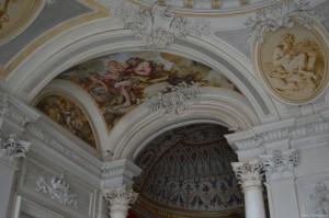 Castello di Rivoli, decorazioni interne