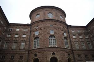Palazzo Carignano, veduta del palazzo dalla piazza interna