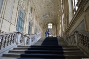 Palazzo Madama, scalinata