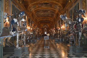 Palazzo Reale Torino, sala d'armi