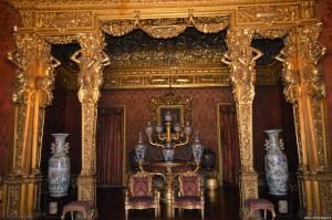 Palazzo Reale Torino, sala dell'alcova