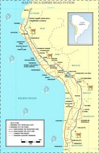 La rete stradale dell'Impero Inca