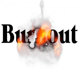 Burnout significa letteralmente essere bruciati, fusi, scoppiati