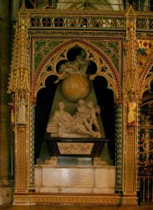 Tomba di Newton, Abbazia di Westminster, Londra