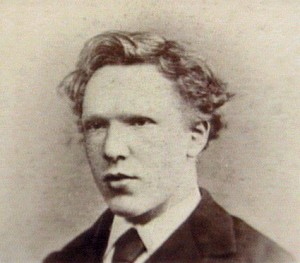 Vincent Van Gogh all'età di 19 anni