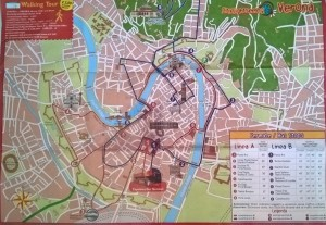 City Sightseeing Verona percorso