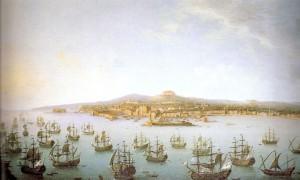 Partenza di Carlo III Borbone per la Spagna, Antonio Joli, Museo di Capodimonte, Napoli