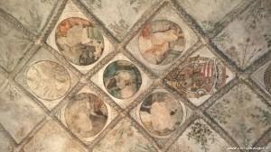 Castello di Castelbello, affreschi soffitto cappella