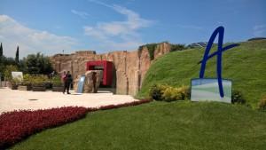 Aquardens Terme, ingresso