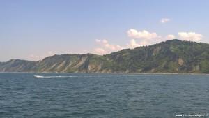 Parco Naturale del Monte San Bartolo visto dal mare