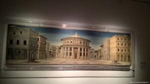 La città ideale (autore sconosciuto), Palazzo Ducale di Urbino