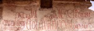 Cartello elettorale antica Pompei
